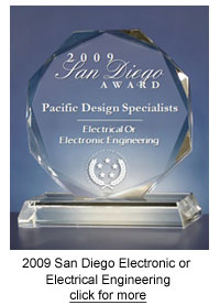USCA 2009 San Diego Award for Electronic or Electrical Engineering