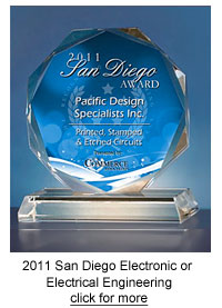 USCA 2011 San Diego Award for Electronic or Electrical Engineering