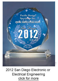 USCA 2012 San Diego Award for Electronic or Electrical Engineering